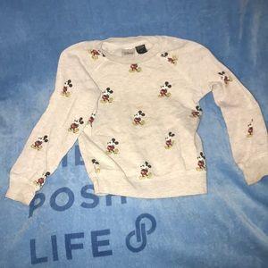 Disney 4T Mickey Mouse sweatshirt 💕